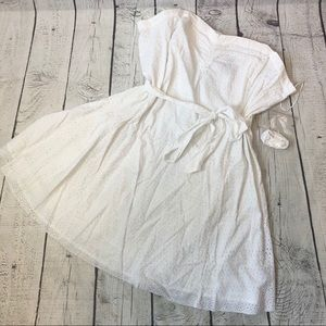 Beautiful white summer dress